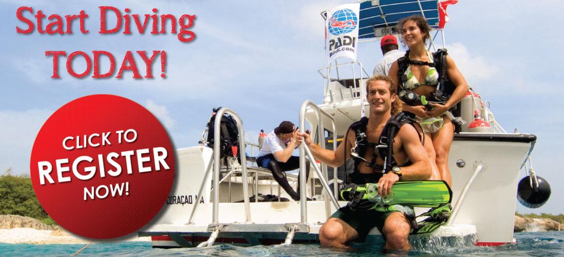 PADI Open water Diver Class at Adventure Scuba Start Today