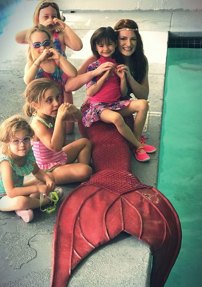 Mermaid Birthday Parties at Adventure Mermaid School