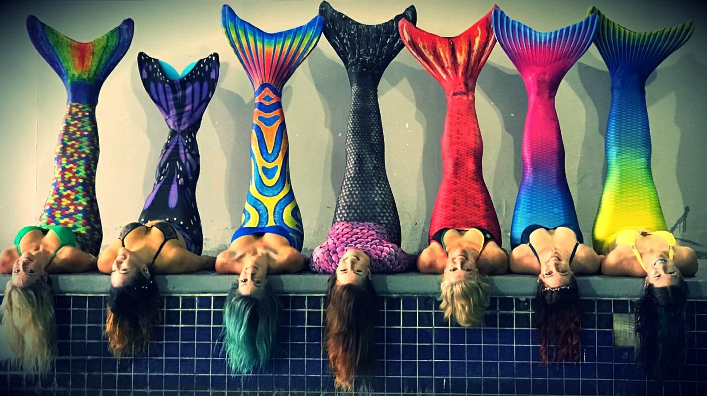 Be a mermaid with your friends at Mermaid Ladies Night