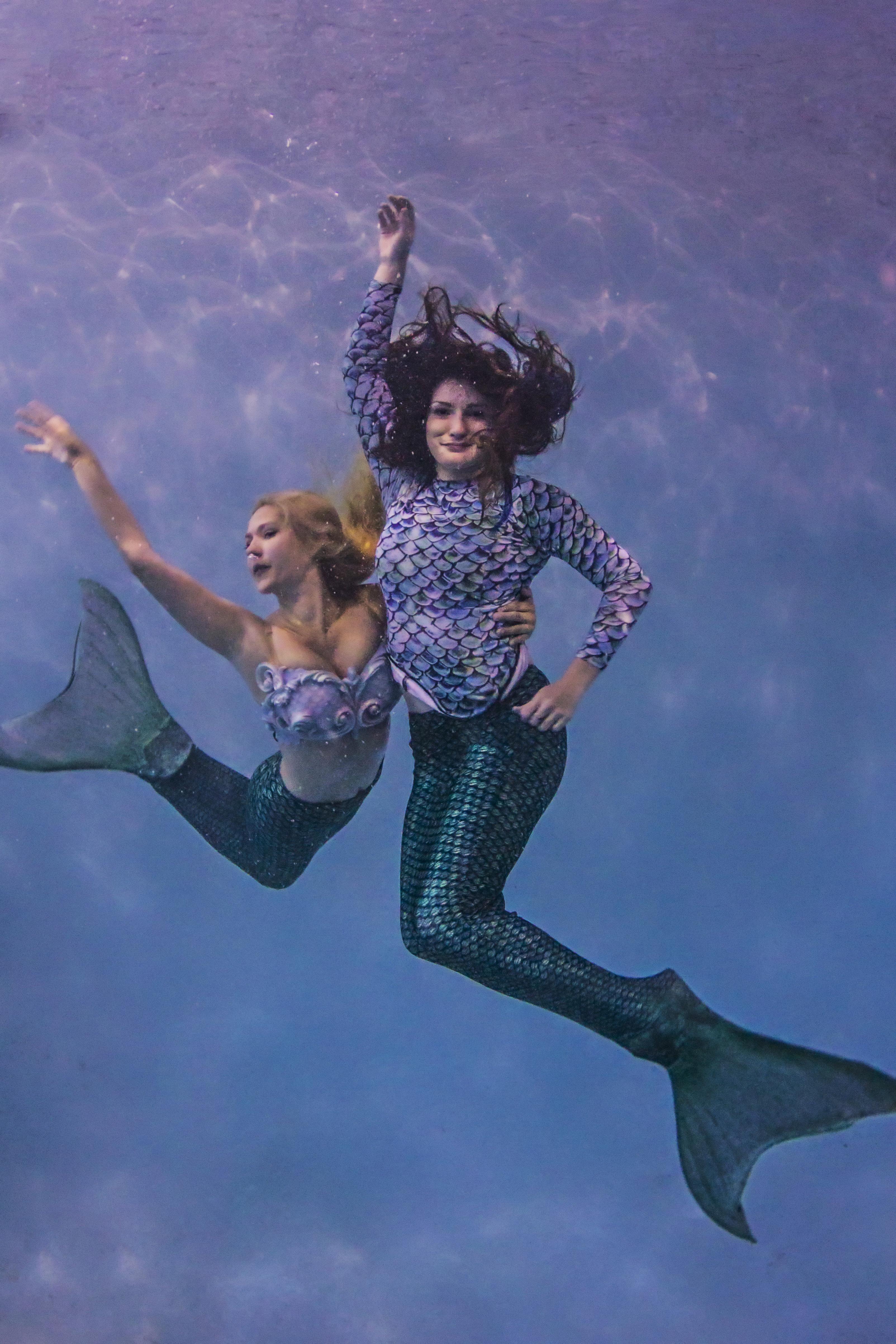 Become a Mermaid Siren at Adventure Mermaid School